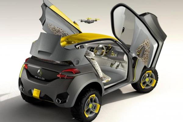 Conceptul Kwid - noul Renault ieftin spate
