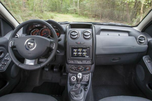 Dacia Duster facelift interior