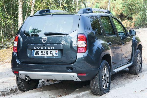 Dacia Duster facelift spate