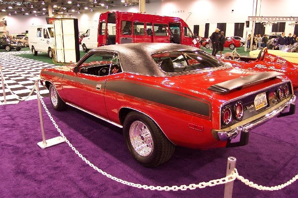 Fast and Furious 7 Plymouth Barracuda