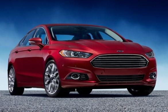 Ford Fusion - versiune americana pentru noul Ford Mondeo 2014 fata