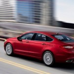 Ford Fusion - versiune americana pentru noul Ford Mondeo 2014 in motion
