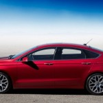 Ford Fusion - versiune americana pentru noul Ford Mondeo 2014 lateral