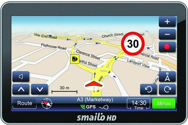 GPS Smailo HD 5.0