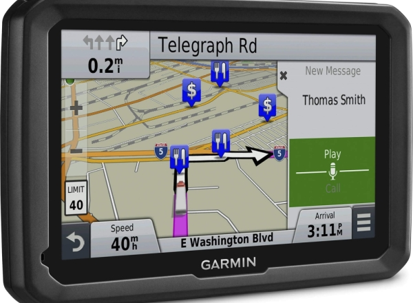 GPS pentru camioane - Garmin Dezl 770LMT