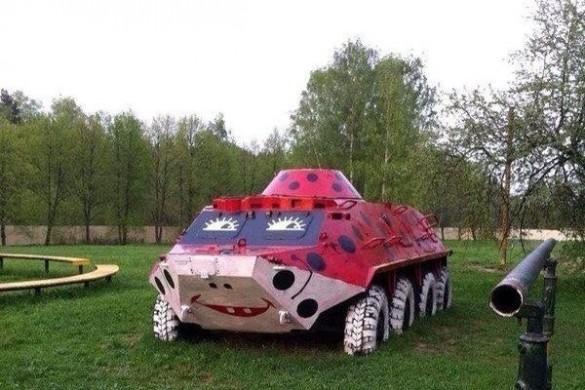 Imagini Funny cu automobile din Rusia - TAB-ul colorat