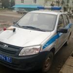 Imagini Funny cu automobile din Rusia - politia