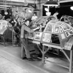 In timpul celui de-al doilea razboi mondial, Opel asambla si componenete pentru avioanele de lupta Ju-88
