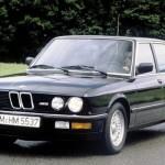 Istoria BMW Seria 5 - BMW 5 Series E28
