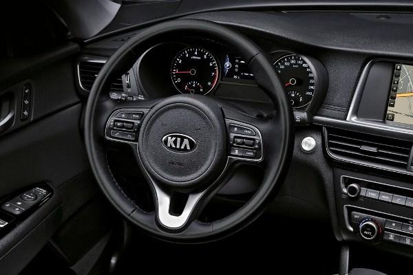 Kia Optima 2015 - imagini oficiale bord