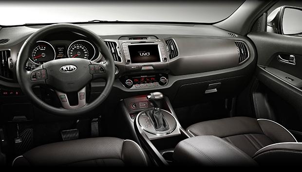Kia Sportage 2013 facelift interior