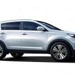 Kia Sportage 2013 facelift lateral