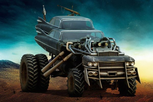 Mad Max Fury Road - Cadillac Coupe DeVille