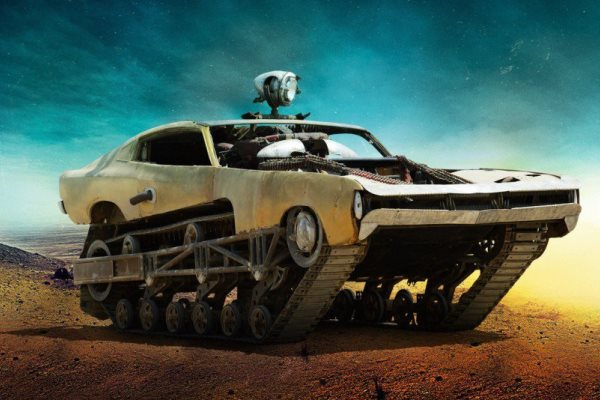 Mad Max Fury Road - Chrysler Valiant Charger