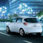 Masini electrice Renault Zoe spate