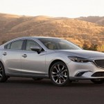 Mazda 6 2015 facelift silver metallic