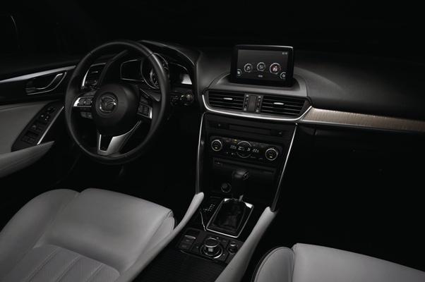 Mazda CX-4 2016 interior