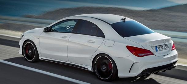 imagine cu Mercedes CLA 45 AMG