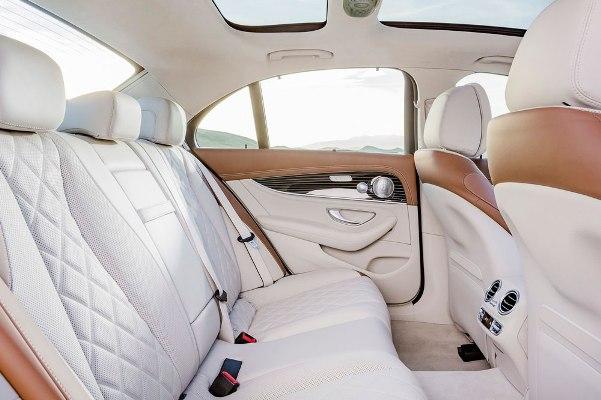 Mercedes E-Class 2016 interior spate
