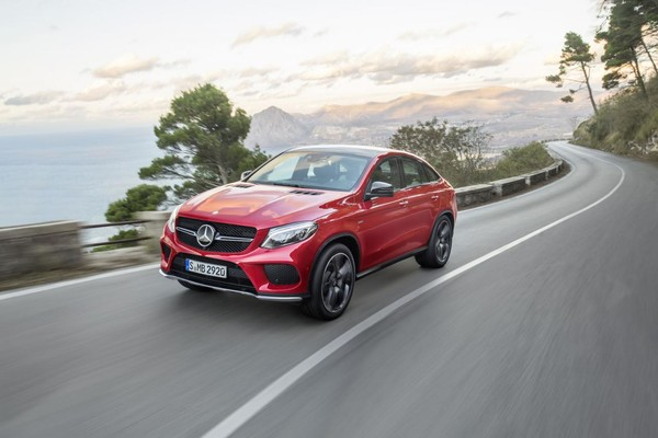Mercedes GLE Coupe 2015 fata