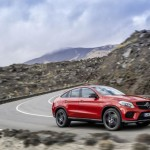Mercedes GLE Coupe 2015 lateral