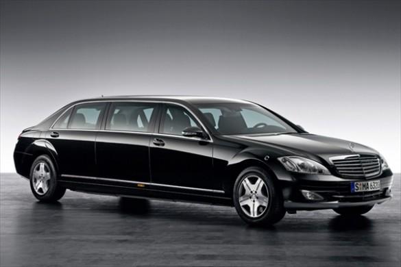 Mercedes Pullman - actuala limuzina a presedintelui rus