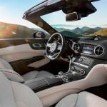 Mercedes SL 2016 facelift interior
