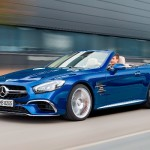 Mercedes SL 2016 facelift lateral
