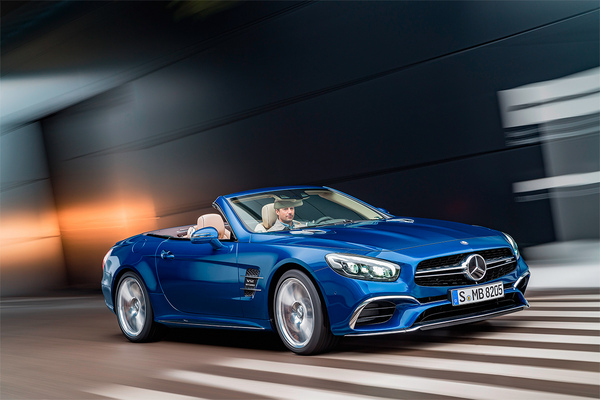 Mercedes SL 2016 facelift