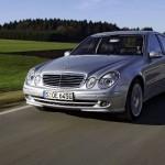 Mercedes E-Class W211 istorie foto
