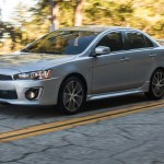 Mitsubishi Lancer 2016 facelift lateral