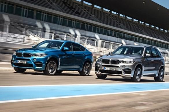 Noile BMW X5 M si BMW X6 M 2014