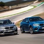 Noile BMW X5 M si BMW X6 M 2014 fata
