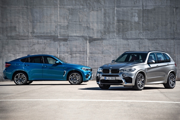 Noile BMW X5 M si BMW X6 M 2014 poze