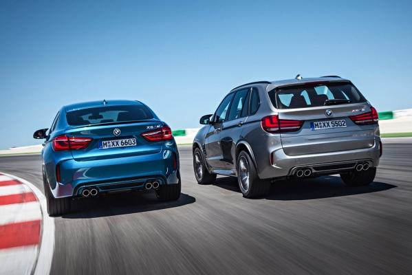 Noile BMW X5 M si BMW X6 M 2014 spate