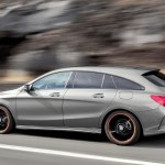 Noile modele Mercedes pentru 2015 - Mercedes CLA Shooting Break lateral