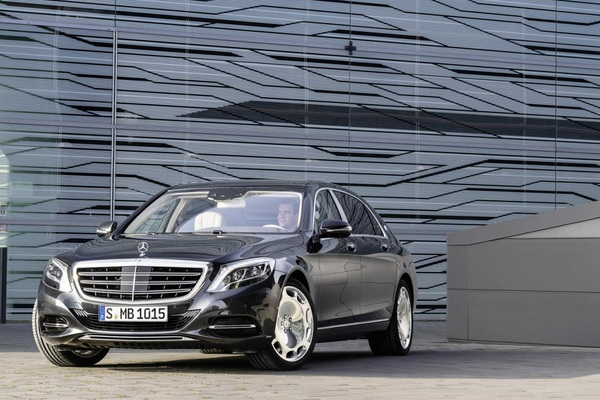 Noile modele Mercedes pentru 2015 - Mercedes S Class Maybach