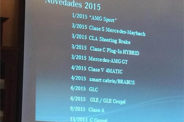 Noile modele Mercedes pentru 2015