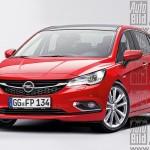 Noile modele Opel - Astra 2015 Autobild