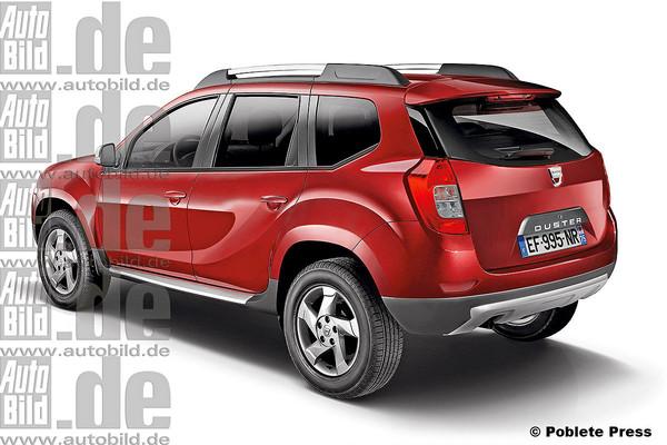 Noua Dacia Duster 2 spate