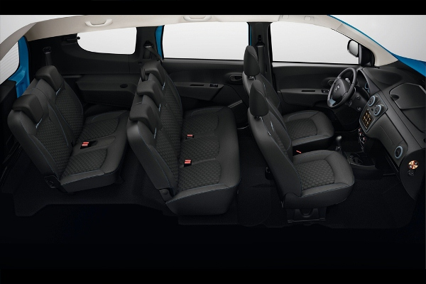 Noua Dacia Lodgy Stepway interior