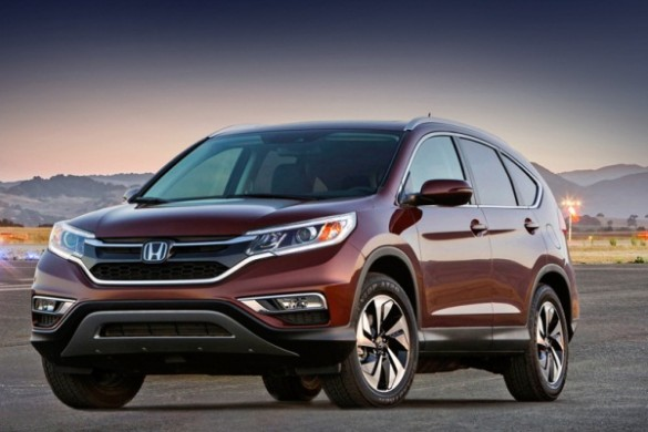Noua Honda CR-V 2015 facelift