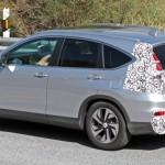 Noua Honda CR-V 2015 facelift teste