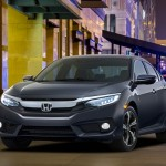 Noua Honda Civic 10 sedan 2015