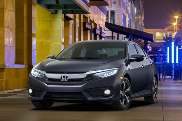Noua Honda Civic 10 sedan 2015