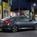 Noua Honda Civic 10 sedan 2015 foto