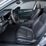 Noua Honda Civic 10 sedan 2015 foto interior fata