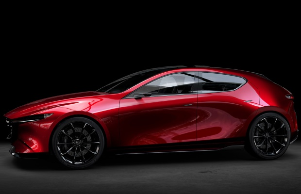 Noua Mazda 3 - conceptul Kai - foto lateral