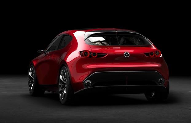 Noua Mazda 3 - conceptul Kai - foto spate