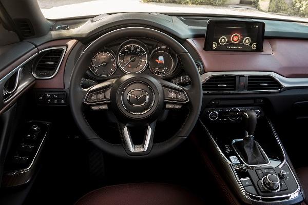 Noua Mazda CX-9 2016 foto interior 2